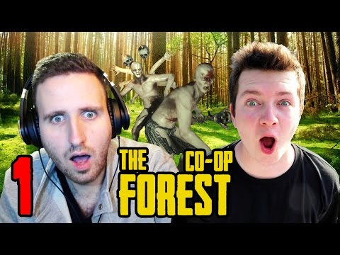 Zagrajmy w The Forest co op feat. Vertez #1