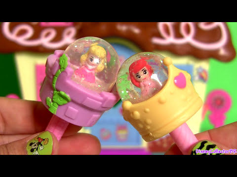 Glitzi Globes Disney Princess Ariel & Aurora ❤ How to Make a Glitter Snow Globe ❤ The Little Mermaid