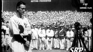 Greatest Sports Legends- Lou Gehrig's Farewell Speech