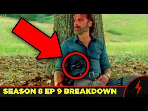 Walking Dead 8x09 Breakdown - FINAL SCENE EXPLAINED