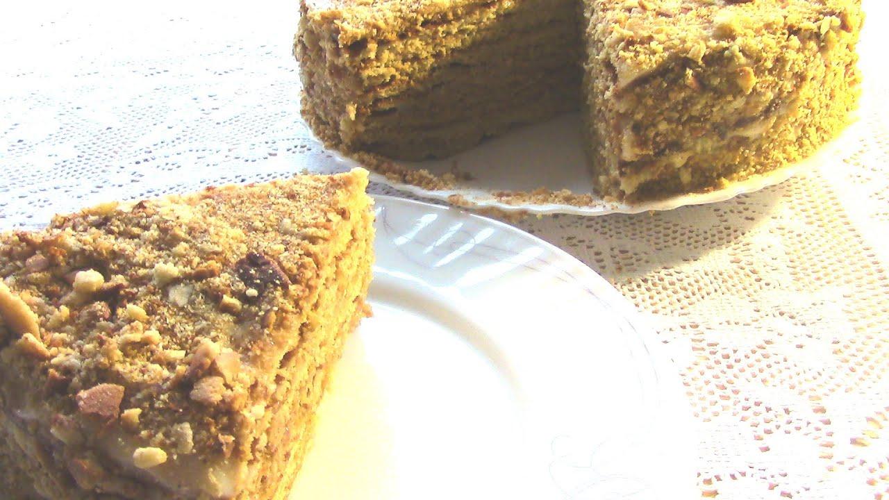 Легкий торт заварным кремом рецепт