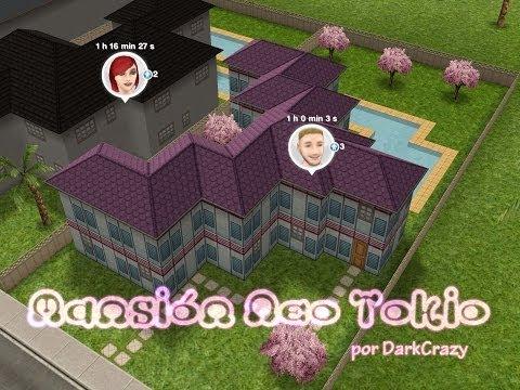 Sims Gratuito || Arquitectura: Mansion Neo Tokio