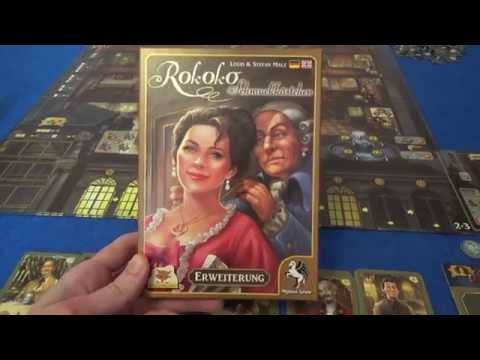 A full playthrough of the Jewelry Box expansion for Rokoko, along with its Festivity Dresses mini-expansion. I start with a quick overview of the new stuff, but skip to 7:59 if you'd like to...