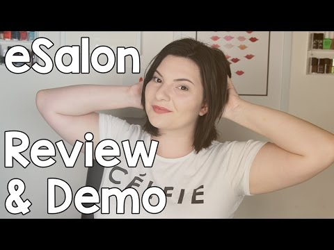 At-Home Hair Dye With eSalon (Review & Demo)   OliviaMakeupChannel