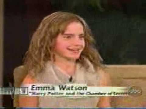 Emma Watson on The View 2002 - YouTube Rupert Grint