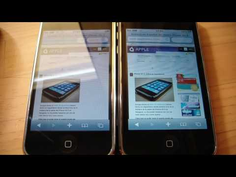iPhone EDGE vs. iPhone 3GS Music Videos