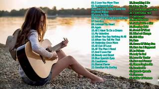 3 Hours Relaxing Guitar Music - Top 50 Romantic Guitar Instrumental Love Songs