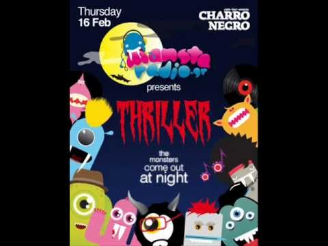 manstaradio.gr presents THRILLER - Τσικνοπέμπτη @ Charro Negro