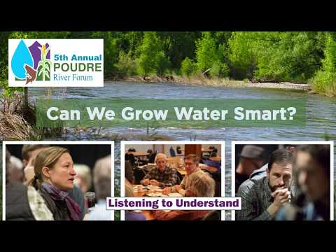 view Poudre River Forum: Can We Grow Water Smart? video
