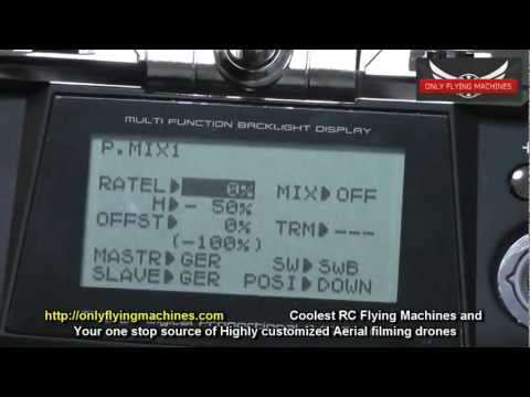 Programming your Radio to use with DJI naza M GPS - Detailed Guide