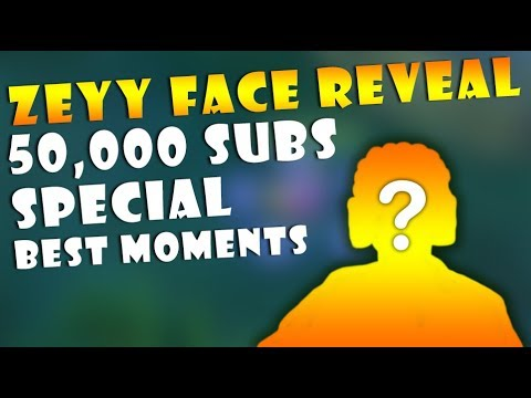 ZEYY 50,000 SUBSCRIBERS SPECIAL FACE REVEAL! MOBILE LEGENDS BEST FUNNY MOMENTS