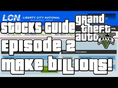 GTA 5 How To Make a Billion Dollars Stock Market Guide Ep 2