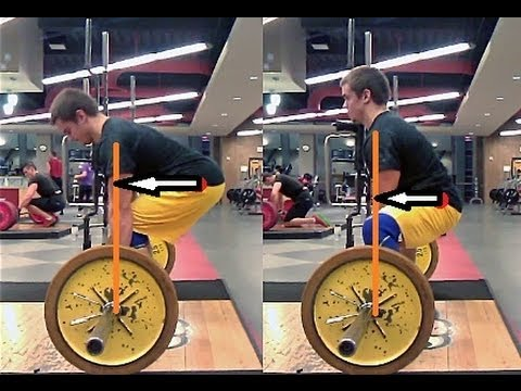 Deadlift Form: Conventional vs. Sumo, Rounded Back vs. Flat Back