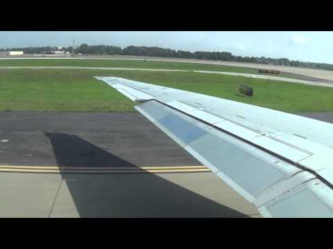 Great JT8D Sound! Delta Air Lines Mcdonnell Douglas MD-88 Takeoff Atlanta