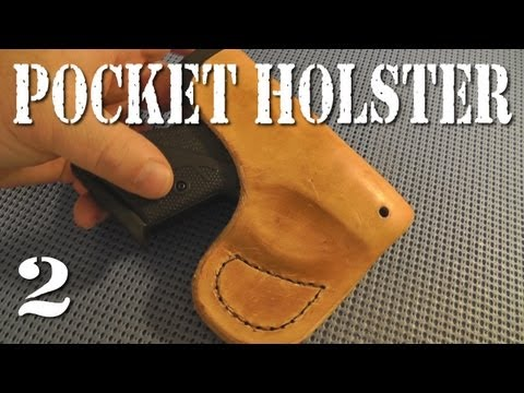 Making a Leather Pocket Holster for my Boberg XR9-S - Part 2