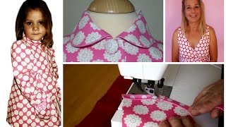How to sew a piped Collar