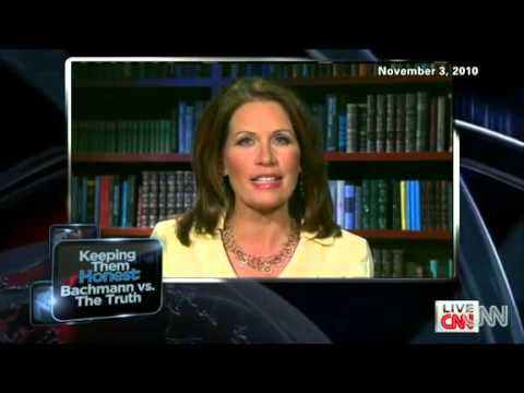 Michelle Bachmann Races Away From Reporter # All Her Lies