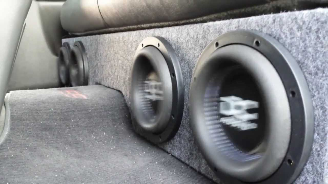 How to build a box for 4 8 subwoofers in a silverado for 04 chevy silverado door speakers