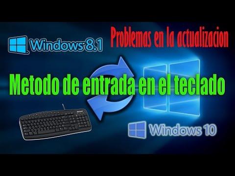 Como configurar teclado en windows 10  Solucion EddieRomRos