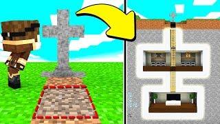 LA MIA BASE SEGRETA NELLA TOMBA! - Scuola di Minecraft #6