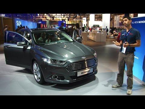 Ford Mondeo al Salone di Parigi 2014