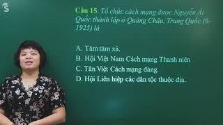 Hướng dẫn giải đề thi minh họa vào 10 môn Sử (Sở HN) - Cô Lê Thị Thu