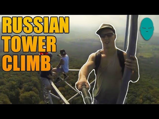 Russian Tower Climb | Damien Walters