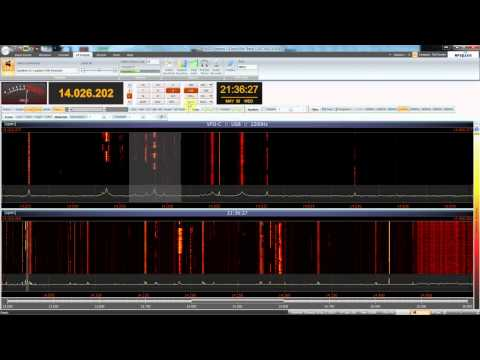 First Test Afedri SDR and SDR-Console