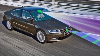 ► 2015 Skoda Superb - Traffic Jam Assist