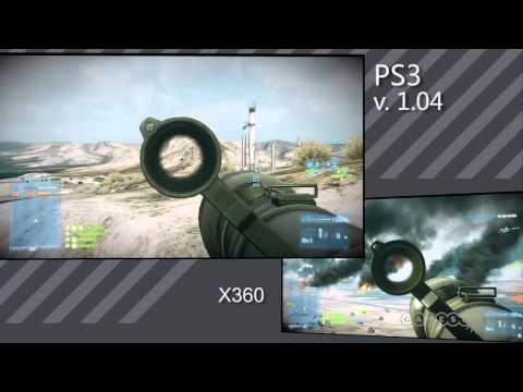 BF3 Patch 1.04 Part 1 - Side by Side Comparison