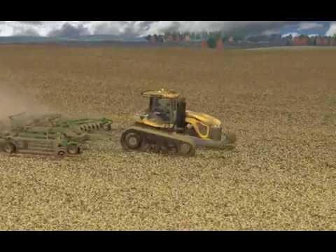 Farming Simulator 2015:  Chisel Plowing on Windchaser!