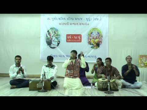 18th Saraswati Sanman Samaroh Mulund Song by Darshan Raghvani & Group
