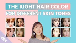 What Hair Color Is The Best For Your Skin Tone? | Choose The  Proper Hair Dying Color