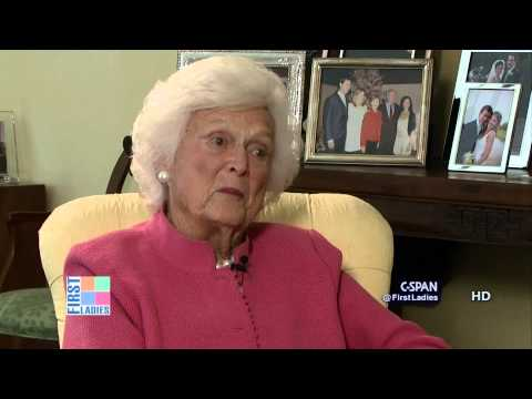 Barbara Bush on Jeb Bush Potential Run for President (C-SPAN)