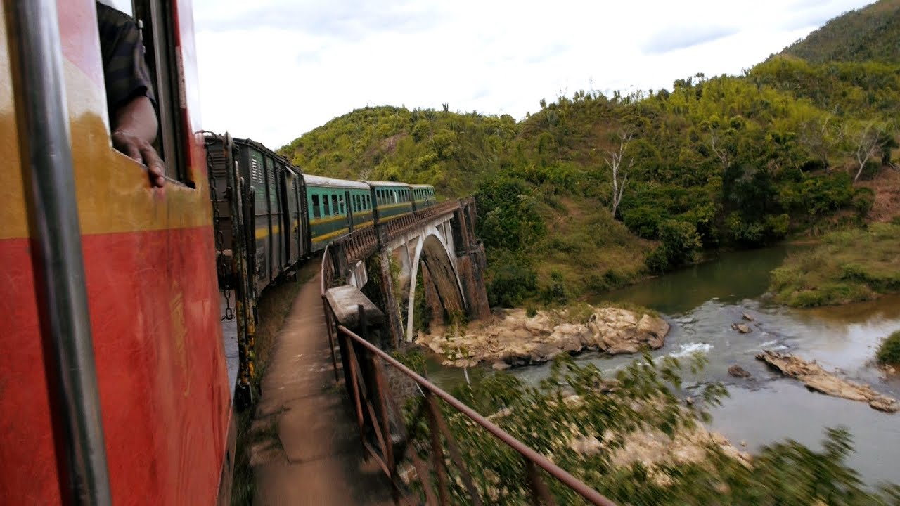 Manakara To Fianarantsoa Train Journey Madagascar Youtube