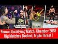 Major Updates Chamber 2018 ! Huge Triple Threat Match ! Roman Qualifies WWE Raw 2/5/18 Highlights MP3