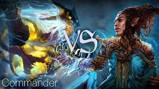 MtG Commander Gameplay - Maelstrom Cascade VS Rashmi's Lifecrafting