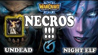 "Grubby | ""NECROS!"" | Warcraft 3 | UD vs NE | Twisted Meadows"
