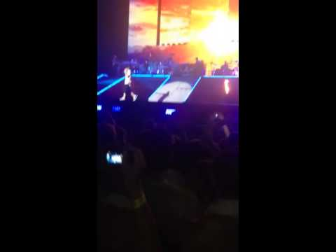 Eminem Rapture Brisbane 2014 Sky Full Of Lighters video