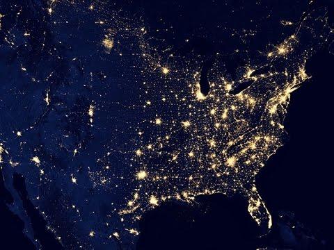 Новый Год - взгляд из космоса