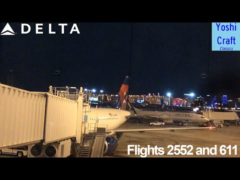Delta Air Lines to Honolulu (Again) - Flight 2552 and 611