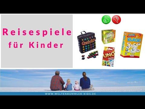 Spiele für Kinder auf Reisen // Produkttest Reisespiele ab 3 Jahren