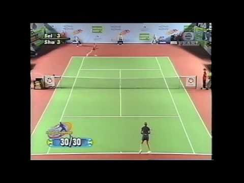 Monica Seles vs Maria Sharapova Hongkong 2003 SF HL