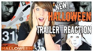 HALLOWEEN (2018) OFFICIAL TRAILER REACTION AND REVIEW!!!