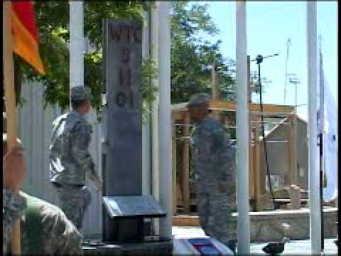 9-11 Commemoration on Bagram Airfield