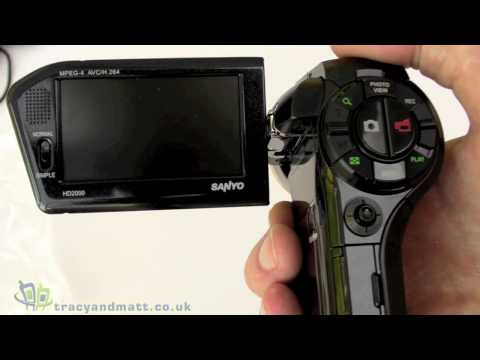 Sanyo Xacti HD2000 unboxing video