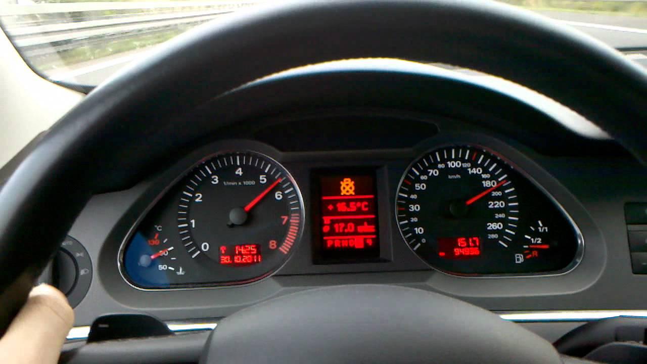 Audi A6 C6 4f 4 2 V8 Auf Autobahn 250 Kmh Dann Kam Die