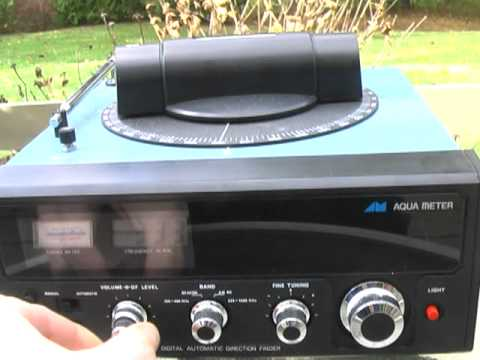 AQUA 712 automatic radio direction finder