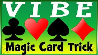 Easy to Do Card Trick | Find 2 Chosen Playing Cards | The VIBE Magic Trick REVEALED