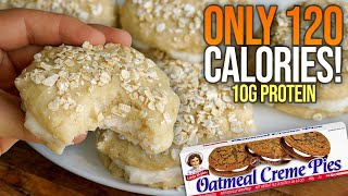 Protein Oatmeal Cream Pies Recipe! | Low Calorie/High Protein!